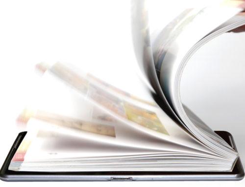 Kataloge und Broschüren mit Blätterfunktion
