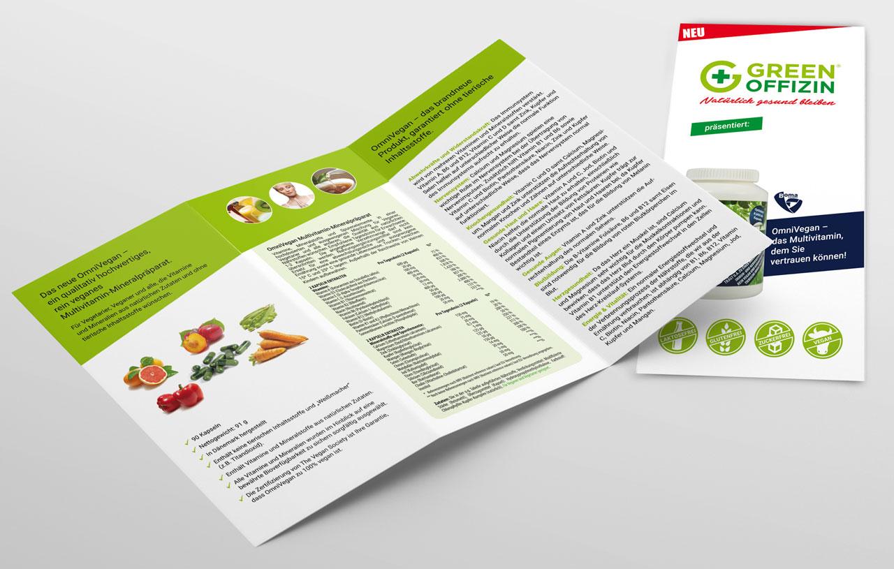 BOMA und GreenOffizin Flyer
