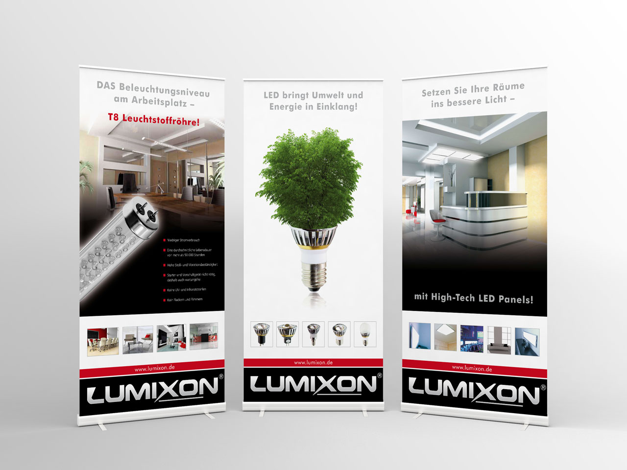 Lumixon, Roll-Up