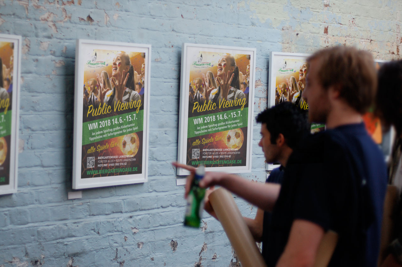 Plakat Biergartenoase Langenzenn