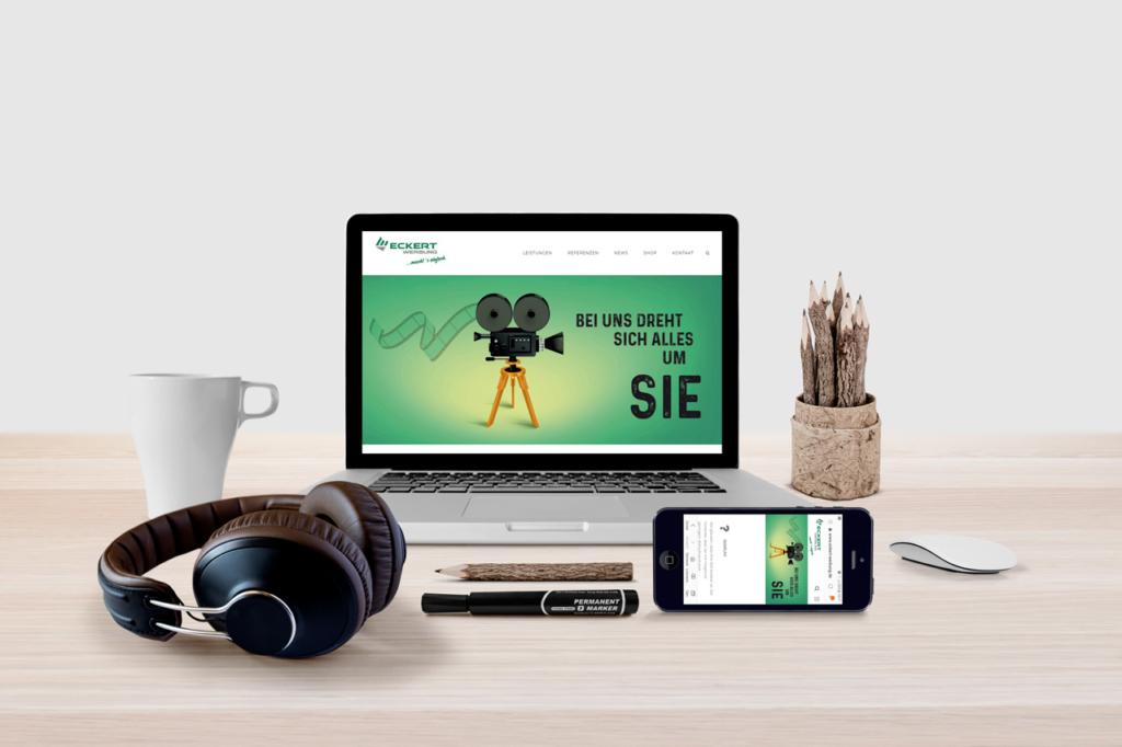 Eckert Werbung Webdesign