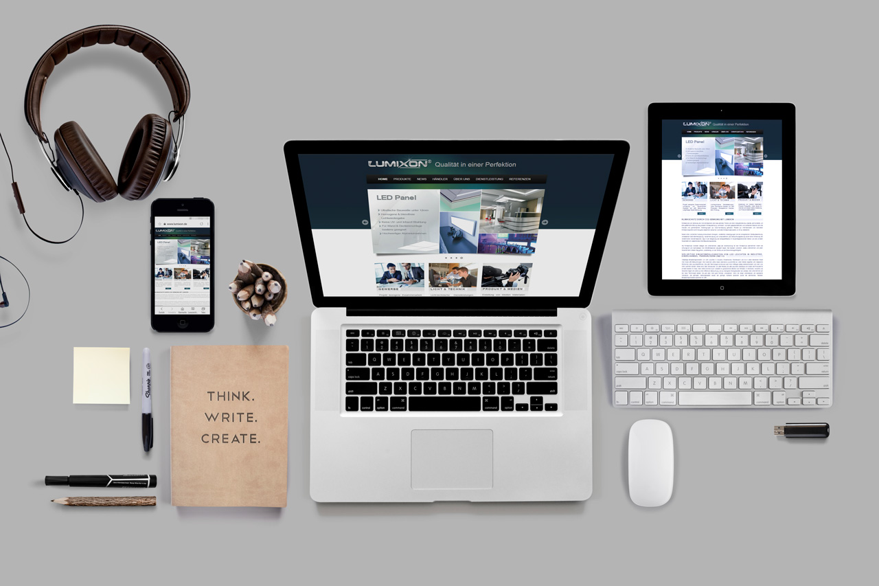 Lumixon Webdesign