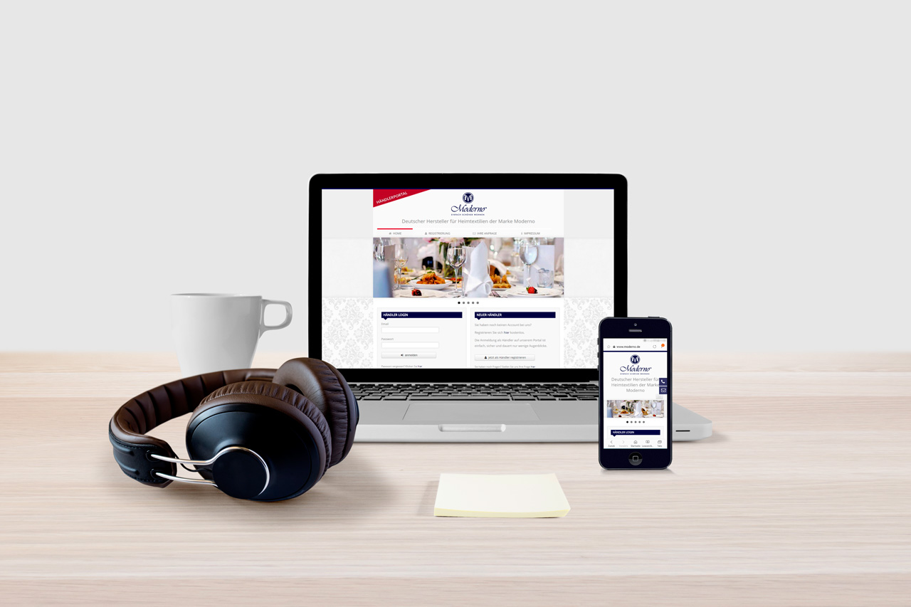 Moderno Webdesign