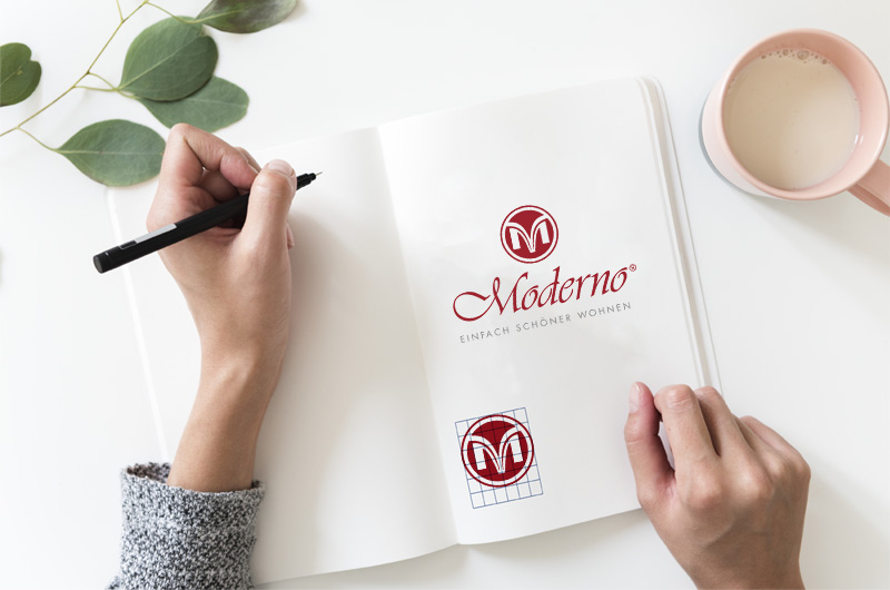 Logoentwicklung Moderno
